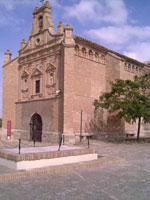 Vista de la ermita de la Virgen del Yugo