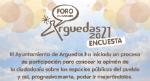 ENCUESTA SOBRE ESPACIOS PUBLICOS DE ARGUEDAS